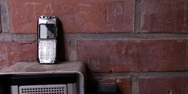 Discarded Mobile Phone