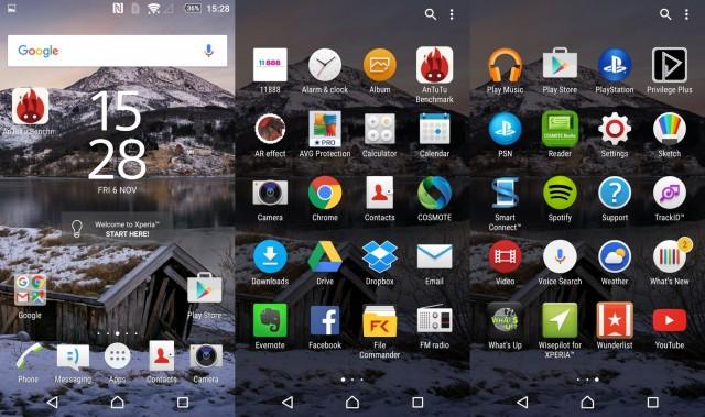 Sony Xperia Z5 UI 1 (Large)