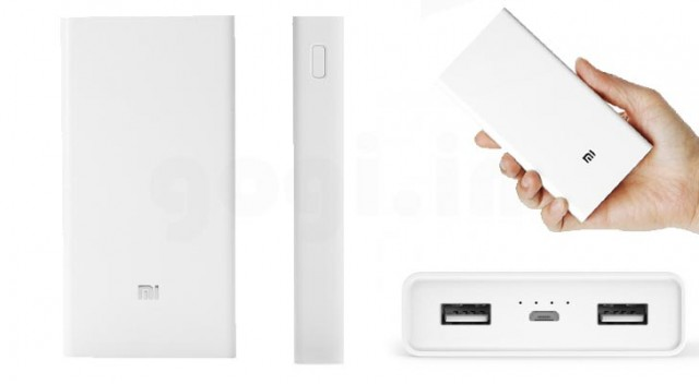 Xiaomi Mi Power bank 20.000mAh