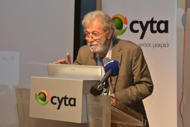 Αντώνης Μακρίδης -  Πρόεδρος Ένωσης Συντακτών