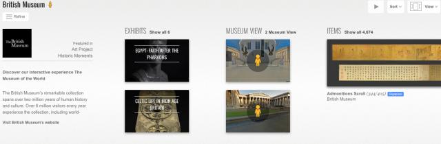 google-british museum