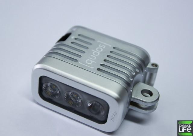 qudos Action Light for GoPro (12)