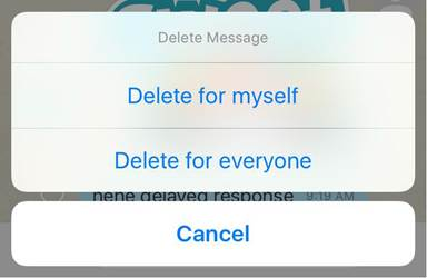 viber delete