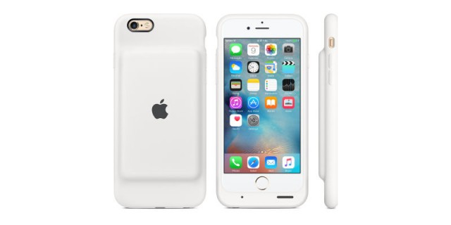 Apple Smart Battery Case for the iPhone 6 and iPhone 6S