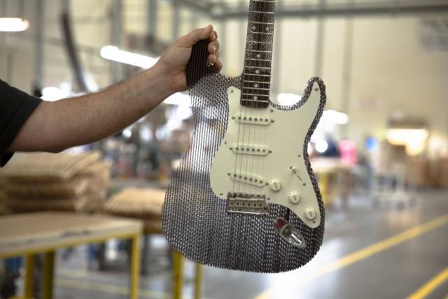 Cardboard Guitar Stratocaster Fender