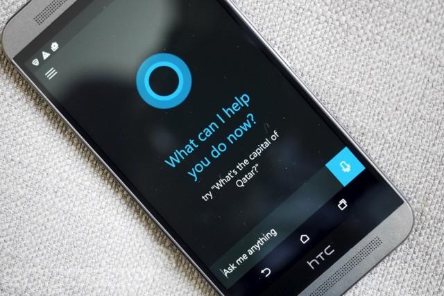 Cortana running on Android