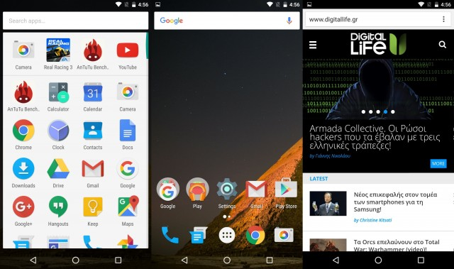 Marshmallow UI LG Nexus 5X