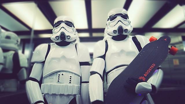 Stormtrooper Longboard