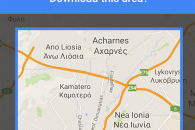 google maps offline kentriko