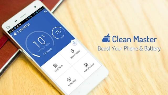Clean Master, η πιο δημοφιλής Android εφαρμογή για το Δ' τρίμηνο του 2015!