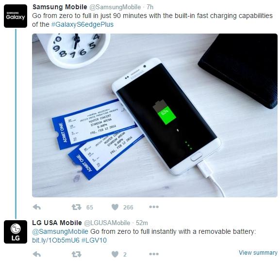 Samsung-LG-Twitter-battery