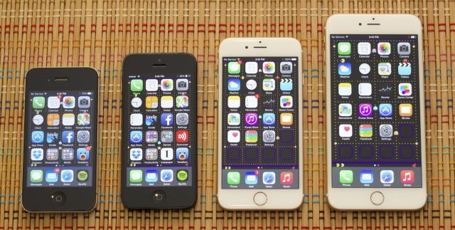iPhone 4S, 5, 6 & 6 Plus