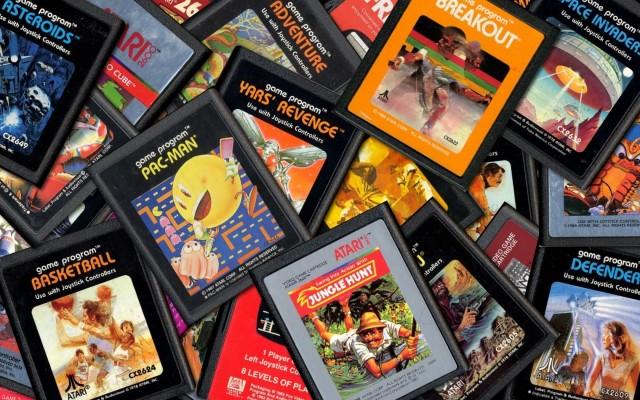 Atari-cartridges 2