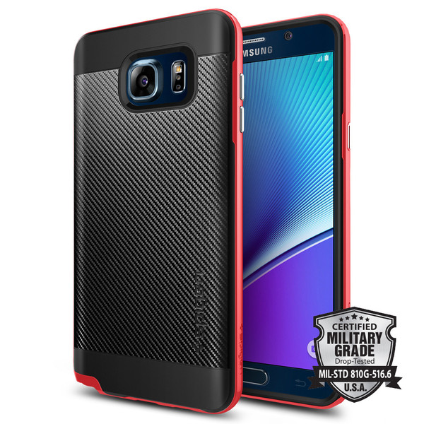 Galaxy Note 5 Case Neo Hybrid Carbon