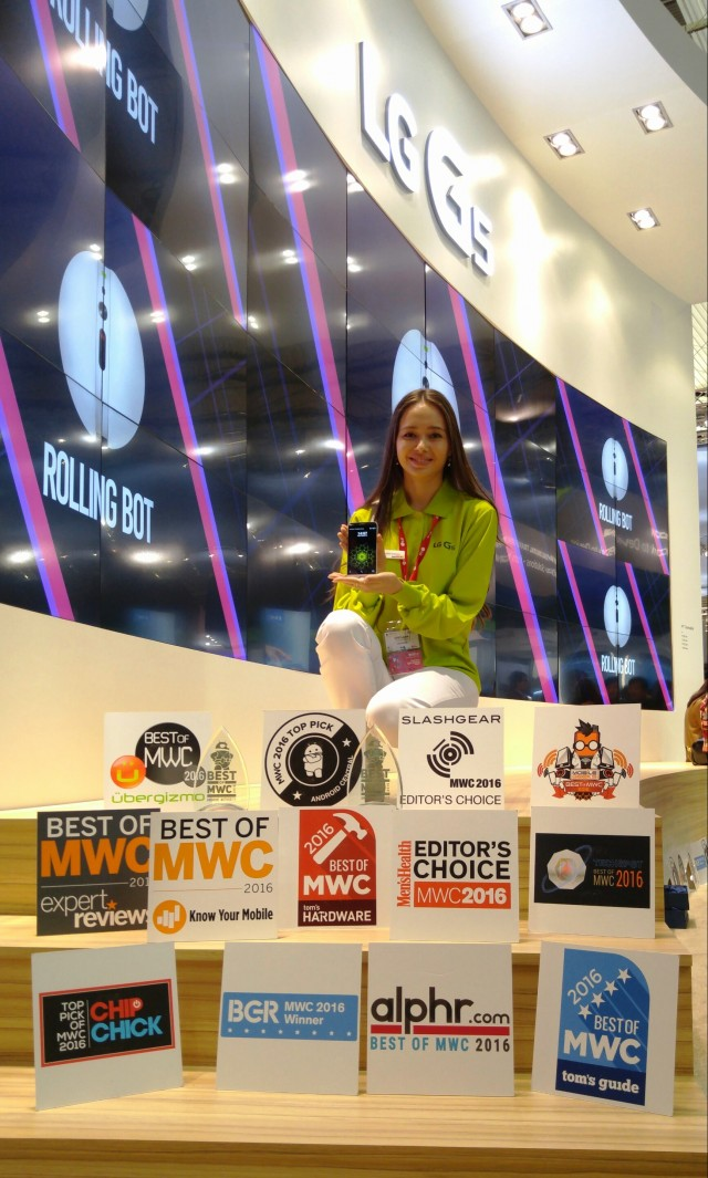 LG G5 Awards at MWC 2016 2