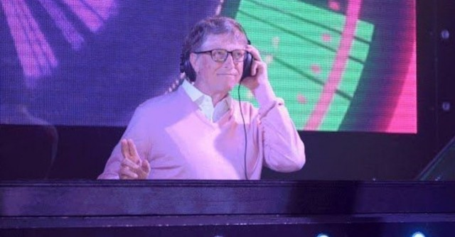 bill gates dj