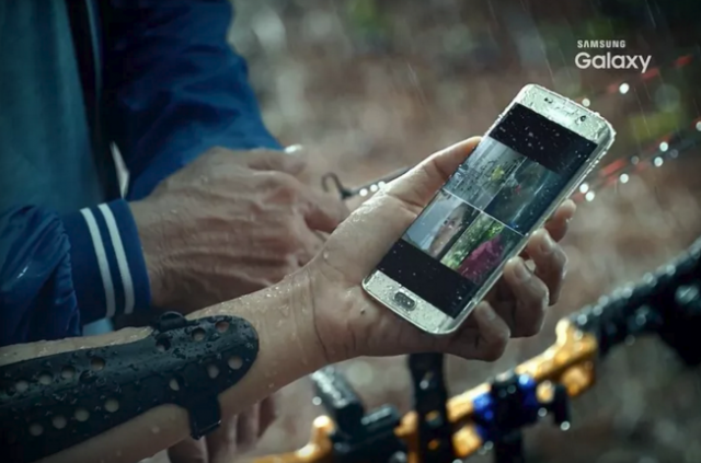 samsung galaxy s7 water-proof