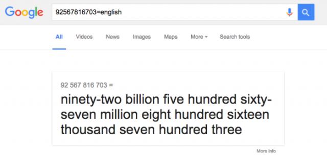 Προφορά αριθμών