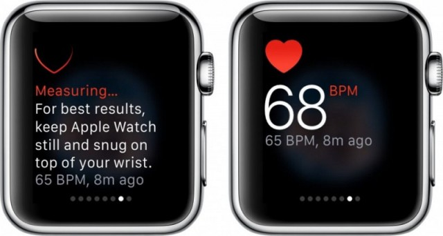 Apple Watch Heart Monitor 1