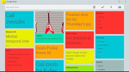 Google-Keep-for-mobile