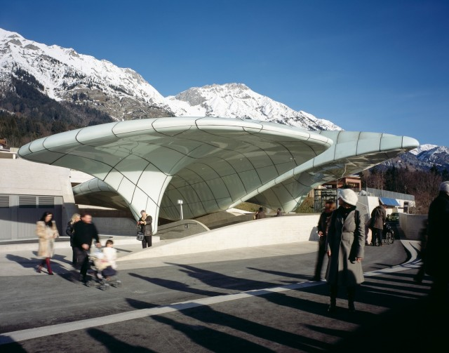 Hungerburgbahn Stations in Innsbruck, Austria 3