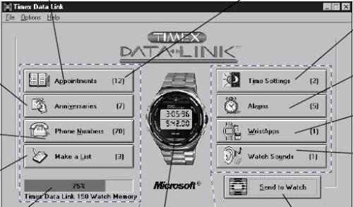 TIMEX DATALINK 4