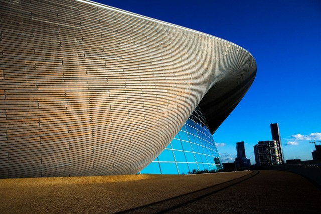 Zaha Hadid death. File photo dated 03/02/16 of the London Aquatics Centre built for the 2012 Olympic Games, as its architect Dame Zaha Hadid has died from a heart attack aged 65, her company has said. Issue date: Thursday March 31, 2016. See PA story DEATH Hadid. Photo credit should read: John Walton/PA Wire URN:25952962