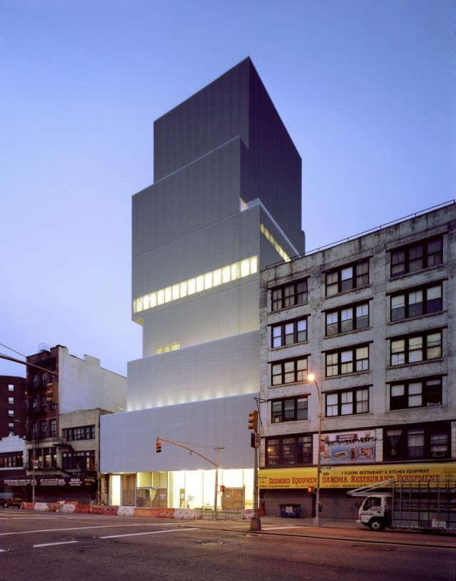 The New Museum of Contemporary Art in New York City