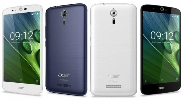 Acer Liquid Zest Plus. Με οθόνη 5,5 ιντσών, κάμερα 13MP με tri-focus και κάμερα 5.000mAh