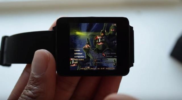 """Counter Strike σε Android Wear smartwatch; Το λες και μικρό... """"θαύμα""""!"""