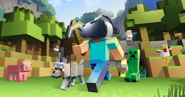 Minecraft Gear VR 1