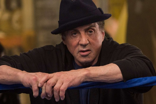 """CREED"":  (L-r)  SYLVESTER STALLONE as Rocky Balboa     in   ""CREED.""   Photo:  Barry Wetcher / Warner Bros. Pictures"