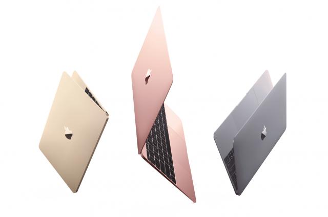 macbook NEW rose gold