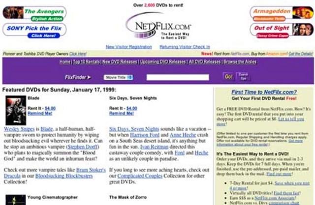 netflix 1999