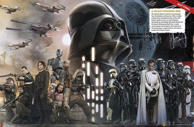 1Rogue One- A Star Wars Story - The Official Visual Story Guide.