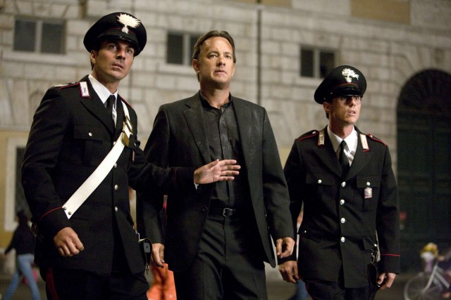 Tom Hanks stars in Columbia Pictures' suspense thriller ANGELS & DEMONS.