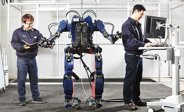 Hyundai Robotikos Exoskeletos (3)