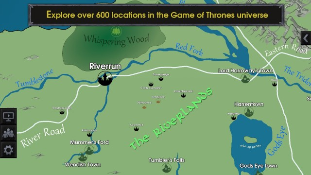 Map for Game Of Thrones2