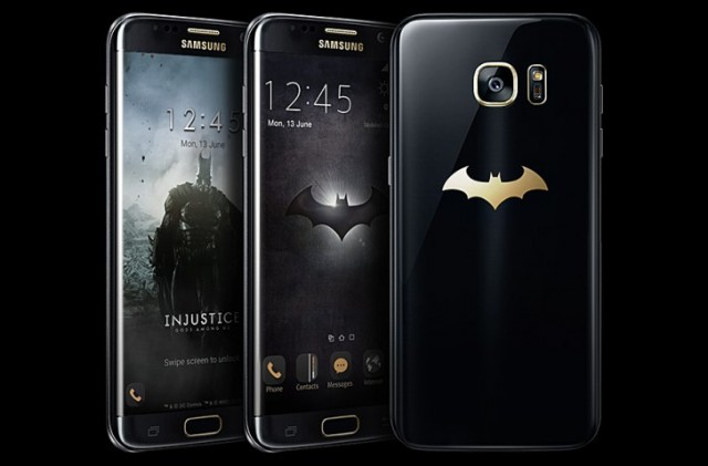 Samsung Galaxy S7 edge Batman