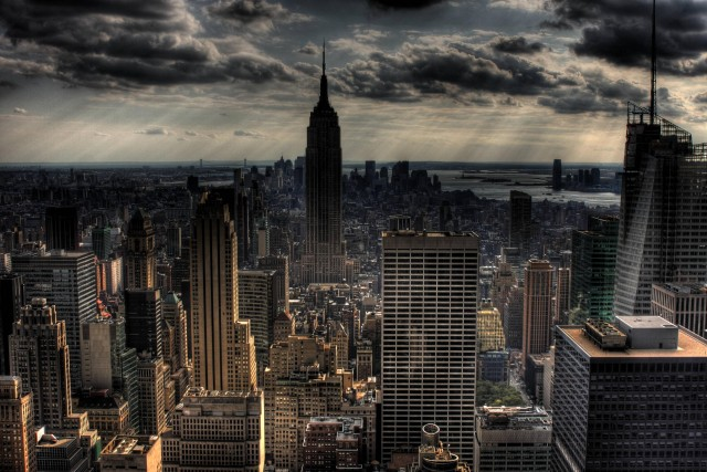 new york city gotham city