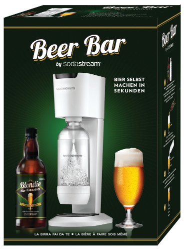 SodaStream launches its new homemade beer system, the Beer Bar (PRNewsFoto/SodaStream International Ltd.)