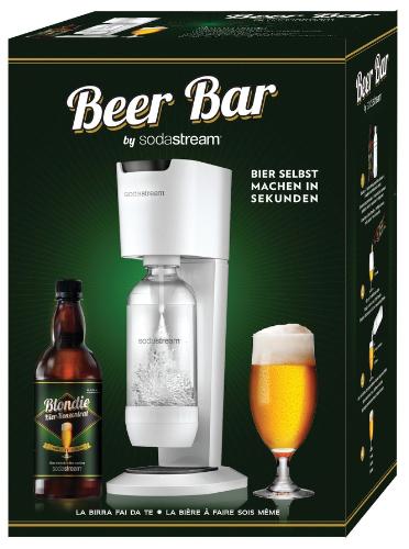 SodaStream launches its new homemade beer system, the Beer Bar (PRNewsFoto/SodaStream International Ltd.)