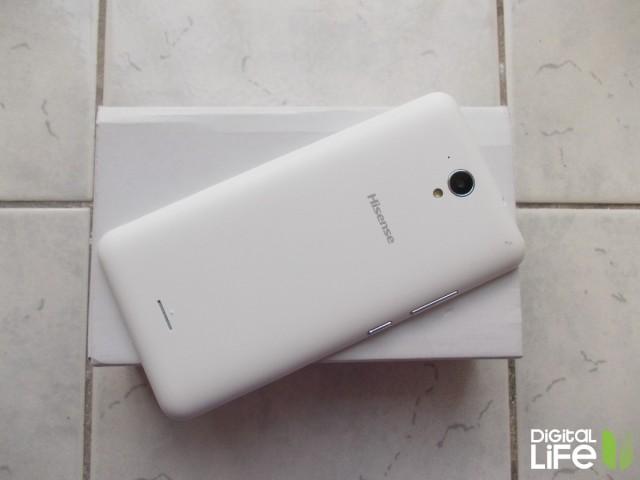 hisense f20 smartphone back