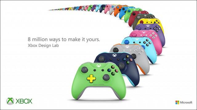 Xbox Design Lab. 8 εκατομμύρια τρόποι για προσωποίηση του Xbox Wireless Controller DesignLabHERO-1-640x360