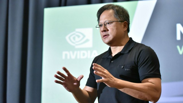 Nvidia CEO talks about VR