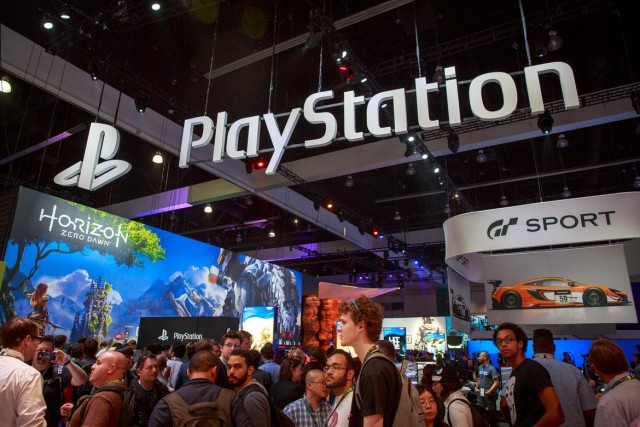 PlayStation booth 1