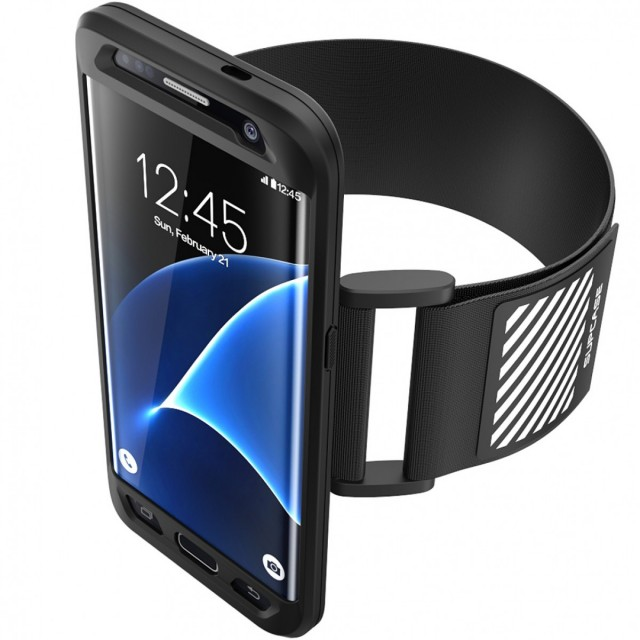 SUPCASE SPORT ARMBAND for Samsung GALAXY S7 BLACK
