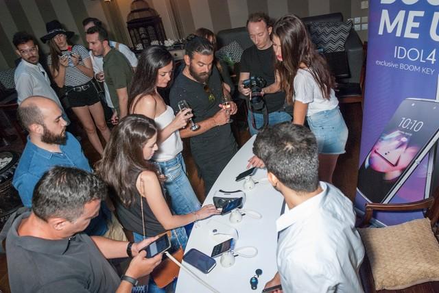 Alcatel Press Event - Photo 2 (Large)