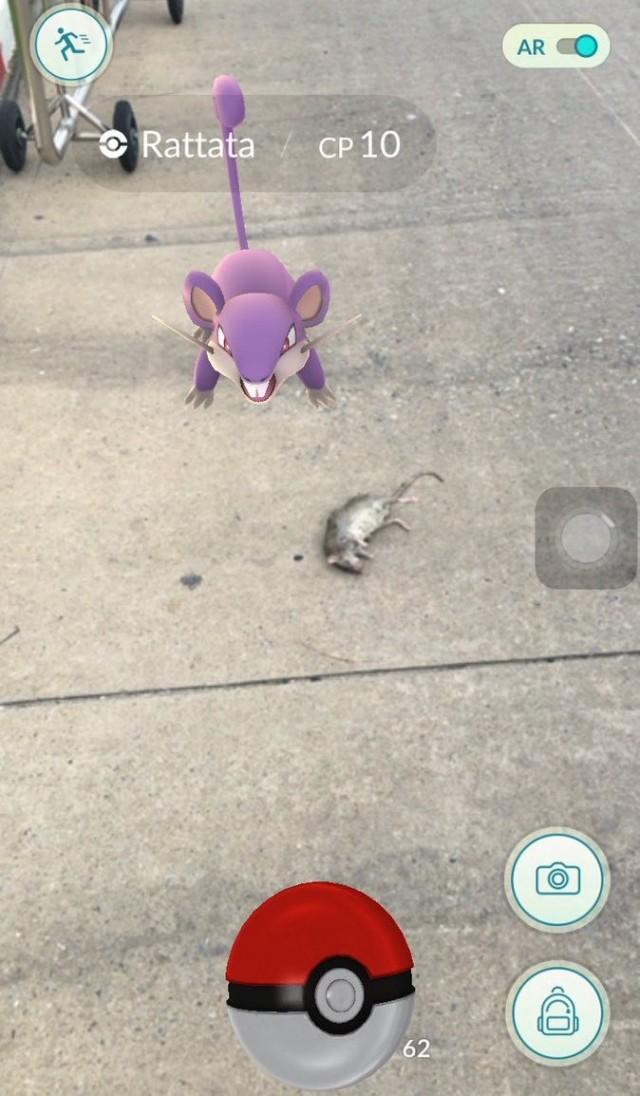 Pokemon GO Sto dromo