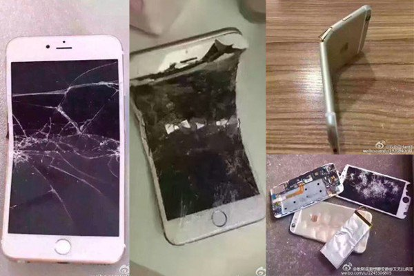 smashed-iphones-China